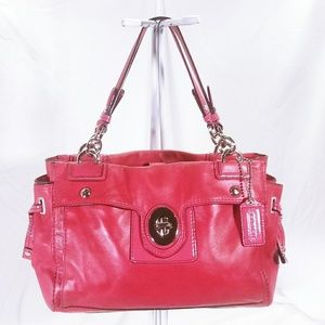 Coach Leather Satchel Handbag